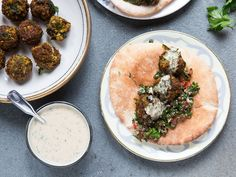 FALAFEL WITH TAHINI