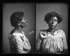 This is a mug shot which is part of the New Orleans City Archives dating from the turn of the 20th century into the 1930s.