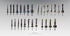 ArtStation - allkill weapon, art slow(김기훈)
