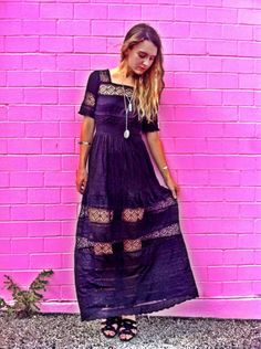 Mix In The Crochet Dress style pic on Free People