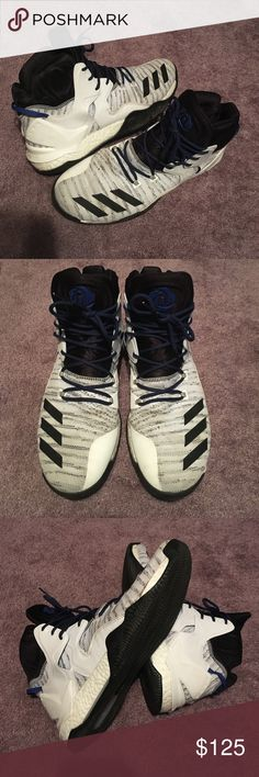 😎👍D Rose 7 Primeknit Shoes Size 13😎💙 D Rose 7 Primeknit, NOT brand new BUT in AWESOME 9.5/10 condition, Loved and kept SO CLEAN as you can see. Some minor marks but really such strong/durable condition... I just don't play as much as I used to. Bought for $160, used them well, time to give away. Size 13, SO COMFY INSIDE. MAKE AN OFFER, but these are pretty valuable shoes.💙😎👍 adidas Shoes Sneakers