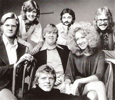 Second City, (clockwise from bottom): David Rasche, Jim Staahl, Ann Ryerson, John Candy, Bill Murray, Betty Thomas and Tino Insanna. Ann Ryerson a former member of Second City comedy troupe in 1972. She worked with Harold Ramis in Second City and in the film Caddyshack. She is known for Minority Report (2002), Constantine (2005) and Caddyshack (1980).