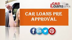 pre-approved auto financing bad credit