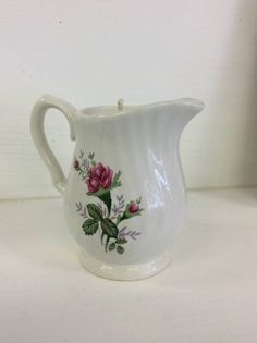 Shop for on Etsy, the place to express your creativity through the buying and selling of handmade and vintage goods. Vintage China, Soy Candles, Red Roses, Creative, Handmade, Etsy, Products, Hand Made, Handarbeit