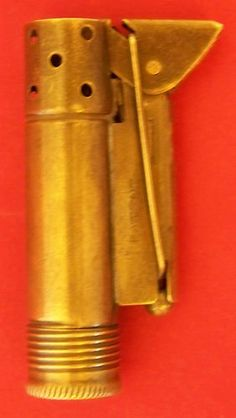 Vintage Cigarette Lighter Brass Field Trench Made in Austria Military Soldier EX #trench_lighter