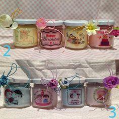  4 #vasetti con #candele di #cera di #soia e #oli #essenziali - *#Compleanni, #Anniversari, #Nascite, #Mamma, san #valentino, festa del #papà, #messaggi d'#amore, festa dei #nonni, #steampunk, #fatine, #vintage, #segni #zodiacali 4 vasetti con candele di cera di soia e oli essenziali per