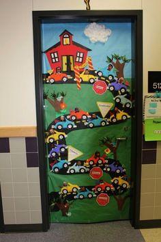 Sınıf Kapı Süsleme Örnekleri 70 - Mimuu.com