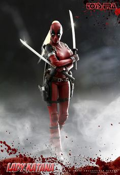 Cheap female action figure, Buy Quality action figure directly from China figures action figure Suppliers: Lady Katana Deadpool Female Action Figure With Changable Eyes and Sword Weapon Accessories Lady Deadpool, Female Deadpool, Deadpool Comics, Dc Comics, Anime Figures, Action Figures, Deadpool Pictures, Deadpool Action Figure, Female Hero