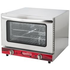 Buy Avantco Size Commercial Countertop Electric Cu Ft Convection Oven Baking at online store Convection Oven Cooking, Countertop Convection Oven, Commercial Ovens, Commercial Electric, Chicken Broth Can, Gas Stove Top, Hot Butter, Cooking Temperatures, Restaurant Equipment