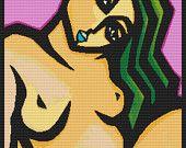 Modern Çapraz Dikiş Seti 'Rahat' Thomas Fedro Nude Art Needlecraft tarafından