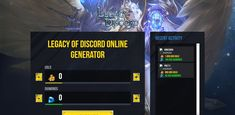 Legacy of Discord: Furious Wings hack is finally here and its working on both iOS and Android platforms. This generator is free and its really easy to use! Singles Online, Game Update, Test Card, Hack Online, Mobile Legends, Mobile Game, Text You, Discord, Diamonds