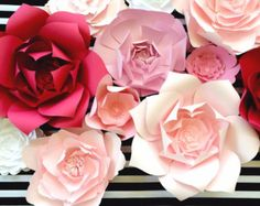 Paper Flower Wall, Ready To Ship, large paper flower backdrop, Nursery decor…