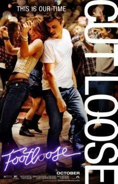 Footloose Movie poster Metal Sign Wall Art 8in x 12in