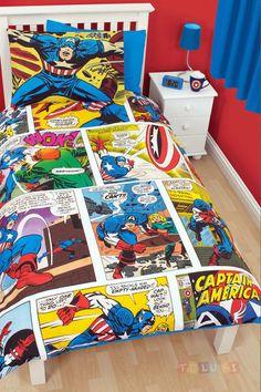 Parure de lit Marvel comics http://www.toluki.com/prod.php?id=534   #Toluki #enfant #chambre