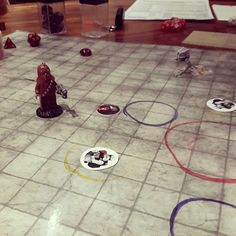 Being stalked by an AT-ST #starwarsrpg