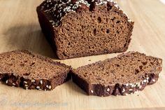 Gluten Free Easy Buckwheat Bread – Cooking Without Gluten Buckwheat Bread, Buckwheat Recipes, Gluten Free Recipes, Bread Recipes, Vegetarian Recipes, Bread Oven, Keto Bread, Bread Substitute, Confectionery