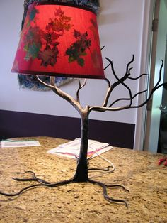 awesome!   Tree of Lamp