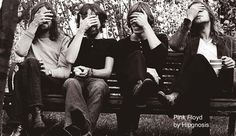 Pink Floyd group shot (early '70s, Hipgnosis)