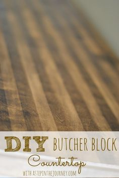 Repurposed Dresser to Kitchen Buffet with Butcher Block Top