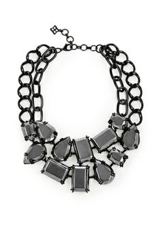 Dazzle in the Metal stone statement necklace. $98. http://bcbg.ma/Sfkd2W