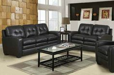 Burnis Collection Two Tone Dark Brown Loveseat