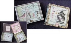 Decorated Cigar Boxes - a class that I want to take from Queen's Ink. These are really beautiful!