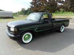Ford : F-150 Custom Hot Rod Shop Truck 1994 F150 Custom, 5.0l Auto, Std. Cab 2wd Lb For Sale