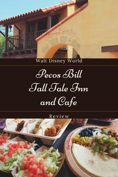 Pecos Bill Tall Tale Inn and Cafe is a restaurant in the Magic Kingdom at Walt Disney World. We ate here as a family for lunch. Read the blog post to learn about our experience. We go over what we thought of the food. Disney World Characters, Disney World Theme Parks, Disney World Food, Walt Disney World, Disney Drinks, Disney Snacks, Disney World Vacation Planning, Trip Planning, Best Disney Restaurants