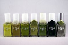 Hard Candy Nail Polish - Greens