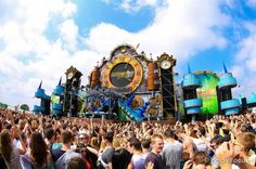 EDM stage design - Intents Festival