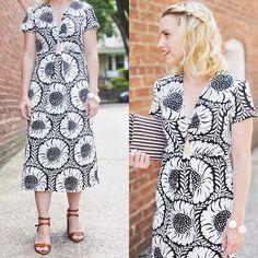 Helianthus Maxi Dress #Anthropologie #MyAnthroPhoto
