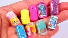 Miniature Phone Cases & iPhone ~ Dollhouse DIY