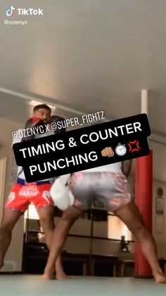 Martial Arts Boxing-Timing and Counter Punching Boxing Training Workout, Mma Workout, Gym Workout Chart, Muay Thai Training, Kickboxing Workout, Gym Workout Tips, Boxing Techniques, Jiu Jitsu Techniques, Martial Arts Techniques