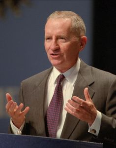 Ross Perot could maybe get the country financially sound.