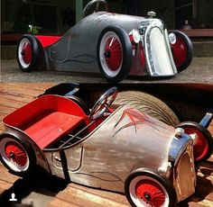 hand built custom pedal car