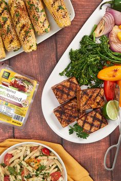 Marinated, baked and ready-to-eat our Sweet BBQ TofuBaked is perfect for grilling season Tofu Recipes, Healthy Recipes, Healthy Meal Prep, Cobb Salad, Supernatural, Grilling, Meals, Baking, Sweet
