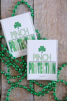 St. Patrick's Day Pinch Protection Necklaces - Eighteen25
