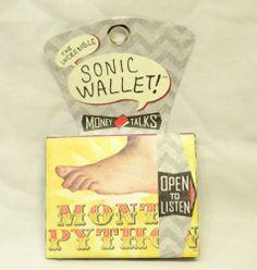 Monty Python Sonic Sound Wallet   Order at our website:  stores.ebay.com/OrbiToddleGifts