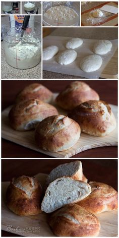 German-style Hard Rolls - Brötchen from The New Artisan Bread in Five Minutes a Day