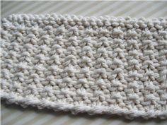 AnnyMay Le Blog: Point de tricot: Le Mock Rib