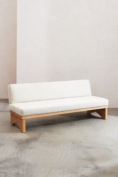 Lemieux et Cie Pierre Plinth Sofa | Anthropologie Architectural Columns, Architectural Digest, Custom Furniture, Modern Furniture, Sofas For Small Spaces, Hanging Furniture, Home Furnishings, Cool Designs, Lounge