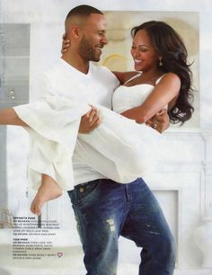 Meagan Goode and Husband Devon Franklin