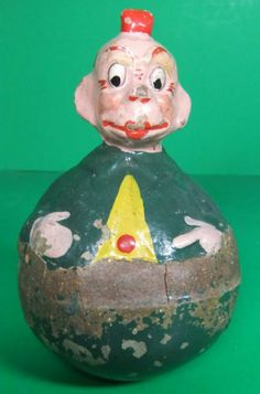 Schoenhut Character Roly Poly Antique (looks like a Palmer Cox Brownie)