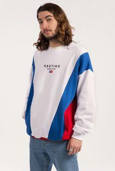 www.kaotikobcn.com  Made in Barcelona.  #kaotikobcn #boy #sweatshirt #blue #red