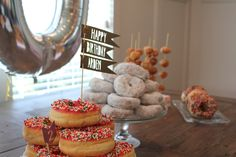 Fun Kids Party Theme: Donut Party! Perfect for a morning party.