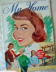 My Home magazine from July 1958 - New Zealand edition