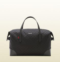 Gucci - original GG canvas carry-on duffle bag 308925F4CSN1060