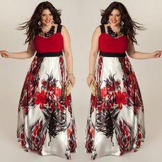 Women Sexy Summer Dress Boho Sleeveless Casual Maxi Long Party Beach Dress Big Plus Size