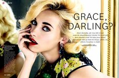 Markus Jans Shoorts Emily van Raay for Glamour Germany February #hollywood #hair trendhunter.com