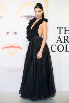 Bella Hadid at Dior, the Art of Color' Exhibition at Moca Shanghai in Shanghai 03/21/2018. Celebrity Fashion and Style | Street Style | Street Fashion